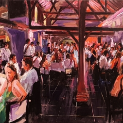 Live event painting, Gala, 15 februari 2019, Sint Oedenrode