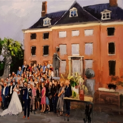 Live Paint Bruiloft, 21 juni 2019, Amerongen
