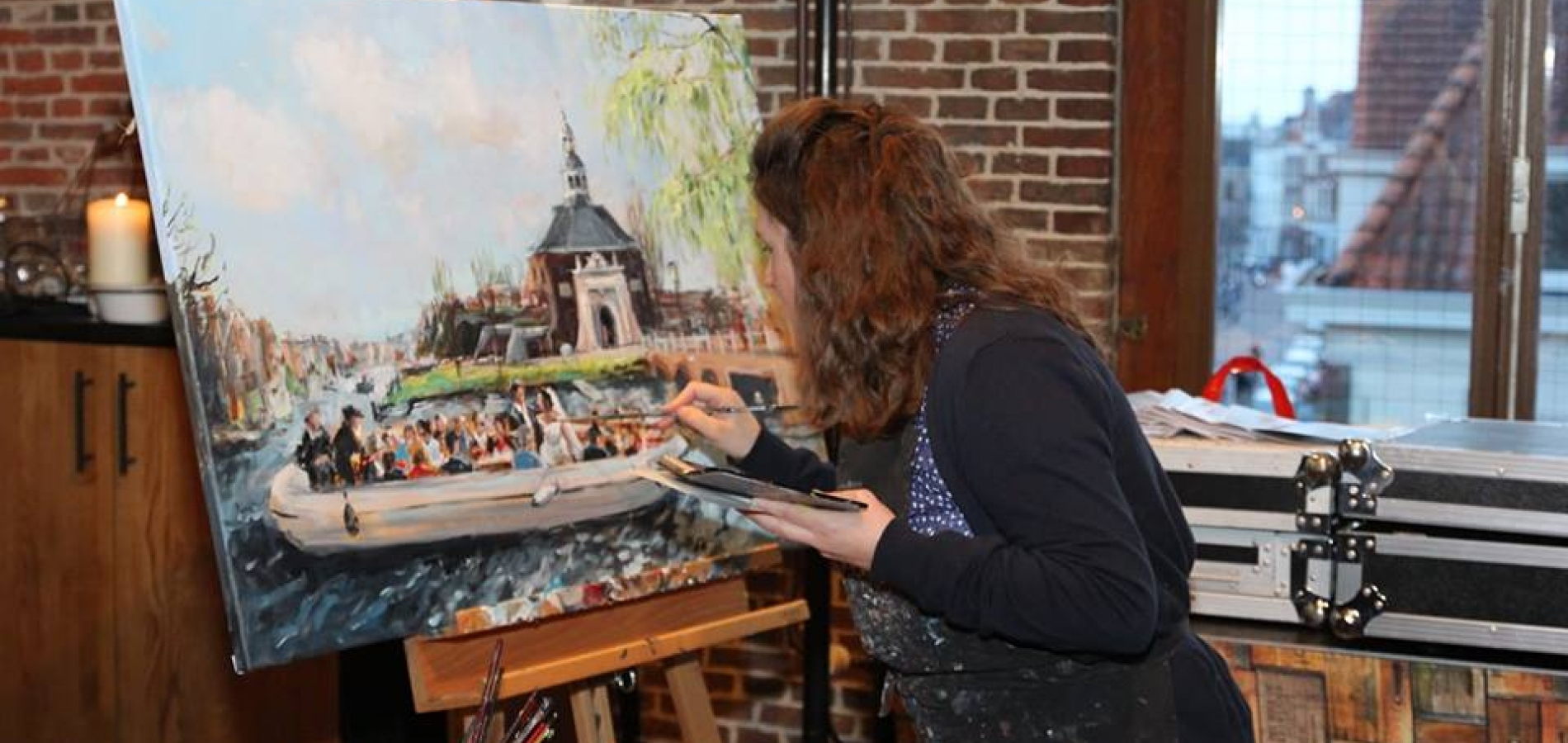 Live_Paint_Dorien_5_april_Leiden_werk